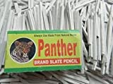 #9: Panther Brand -Stationery Slate Pencil Natural Lime Stone Chalk - Pack of 25 Boxes - PMW
