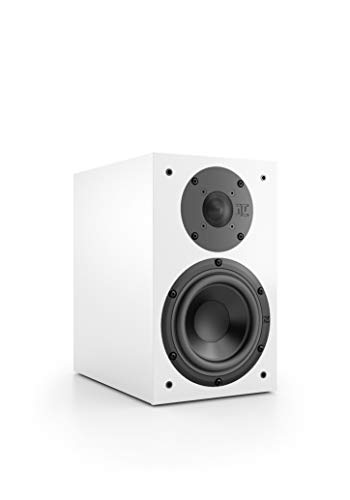 Nubert nuBox 313 Regallautsprecher | Lautsprecher für Stereo & Musikgenuss | Heimkino & HiFi Qualität auf hohem Niveau | Passive Regalbox mit 2 Wege Technik | Kompaktlautsprecher Weiß | 1 Stück (Regal-lautsprecher Verstärker Mit)