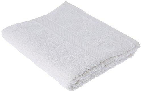 Soleil d'ocre 431100 Douceur Serviette de Toilette Coton Blanc 50 x 90 cm