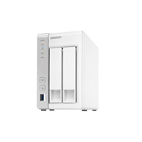 31AQV4hdarL. SS500  - QNAP TS-231P 2TB 2 Bay NAS Solution | Installed with 2 x 1TB Western Digital Red Drives