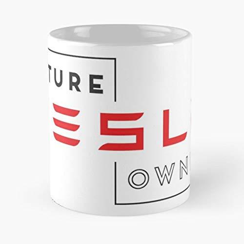 Riverdale Future Tesla Owner Model S X 3 - Best 11 oz Kaffee-Becher - Tasse Kaffee Motive