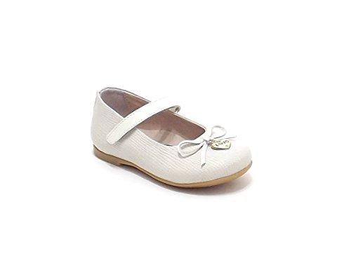 Liu Jo scarpe bambina, articolo 22385, bambolina in pelle stampata, colore beige