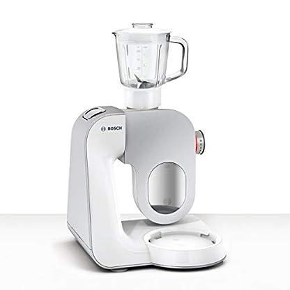 Bosch-MUM5824C-CreationLine-Premium-Kchenmaschine-1000-Watt-39-l-Edelstahl-Rhrschssel-Durchlaufschnitzler-Glas-Mixeraufsatz-08-l-Fleischwolf-Kunststoff-Rhrschssel-wei