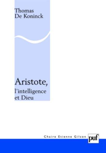 Aristote, l'intelligence et Dieu