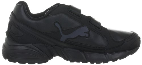 Puma AXIS 2 SL V Jr 186401 Unisex - Kinder Sportschuhe Schwarz (black-black-dark shadow 01)