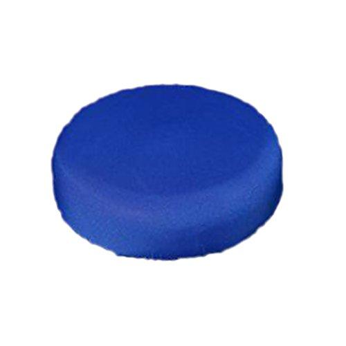 Taglia libera Light Blue Tappetino da doccia 54x54 cm ad angolo Hotels antibatterico forma settoriale cuscino ciottoli superficie WC casa ventosa antiscivolo sy Clean PVC bagno trasparente blu