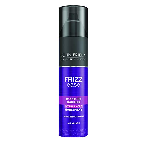 John Frieda Frizz-Ease Laque Fixation Forte Bouclier Anti-Humidité 250 ml Modèle aléatoire