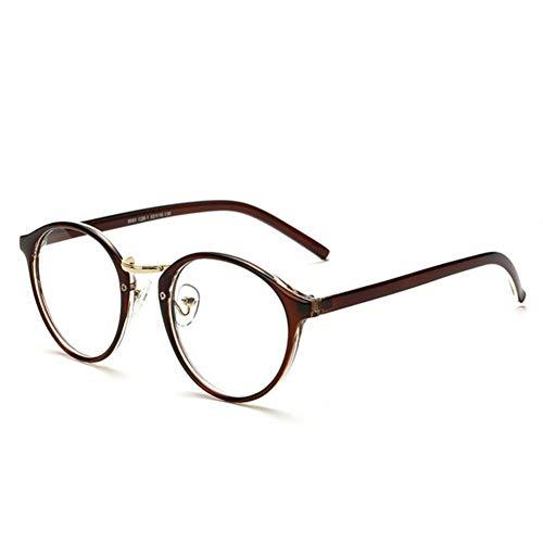YLNJYJ Sonnenbrillen Brillen Brillenfassungen Für Männer Frauen Unisex Nerd Klare Linse Lesebrille Optische Brillen Rahmen
