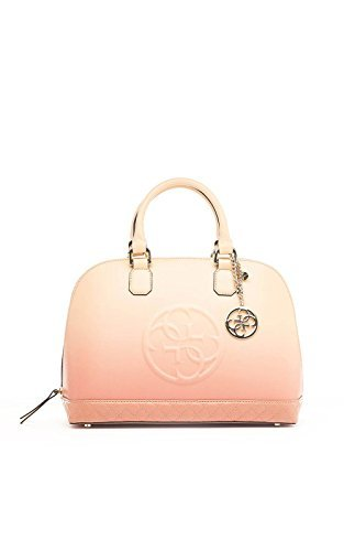 GUESS Amy Dome Satchel Rose Multi (Handtasche Dome Satchel)