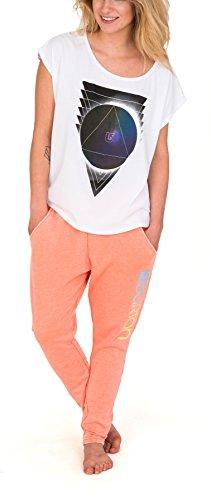 Burton wB moonscape tee t-shirt pour femme Blanc - Stout White