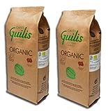 CAFES GUILIS DESDE 1928 AMANTES DEL CAFE - Grain Bio De Haute Qualité De Torréfaction Naturelle - 2 x 1 kg
