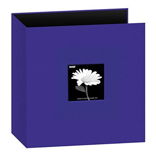 Ring Stoff Rahmen Cover Memory Binder, Kobaltblau, ()