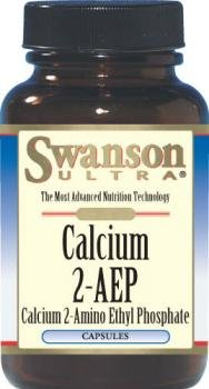 Swanson Ultra Calcium 2-AEP 560mg (90 Capsules) from Swanson Health Products
