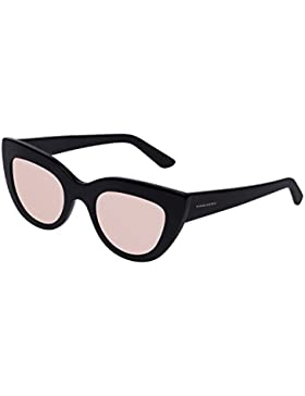 Hawkers Diamond Black Rose Gold Hyde , Gafas de Sol, Negro/Rosa