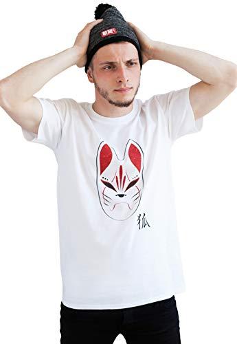 Strand Clothing - T-Shirt - Manches Courtes - Homme Blanc Blanc - Blanc - X-Large