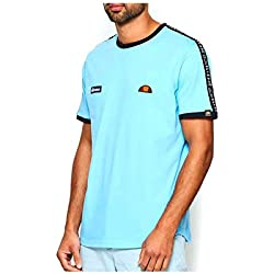 Ellesse Fede tee Camiseta, Hombre, Light Blue, XS