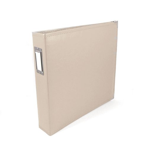 Albums We R Faux Leather 3-Ring Binder 12