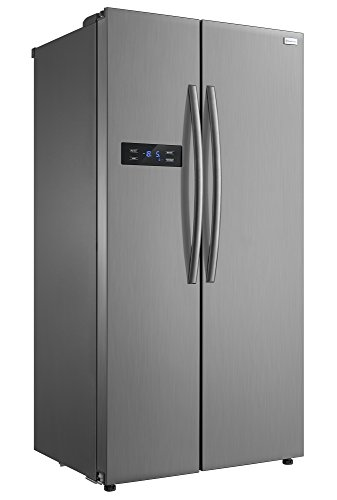 Russell Hobbs American Style Fridge freezer, 90cm wide, Side by Side, A+ efficiency, RH90FF176SS- 2 Year Warranty** (stainless steel)