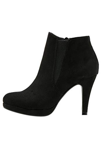 Anna Field High Heel Stiefeletten für Damen - Stiletto Stiefel - Chelsea Boots in Schwarz, Größe 41