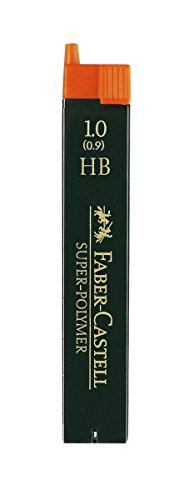 Faber-Castell 120900 – Paquete de 12 minas de 0.9 mm HB