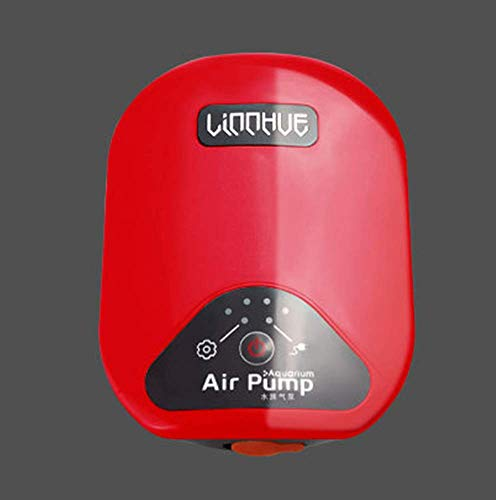 Pompa ad aria per acquario, super precisa, alimentazione di ossigeno mini portatile per interruzioni temporanee, pesca sul campo e trasporto di pesci
