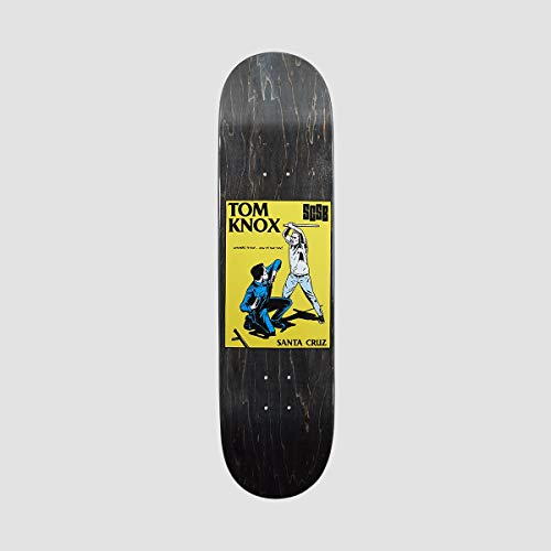 Santa Cruz Skateboards Deck: Knox Cop Beater Popsicle 8.1