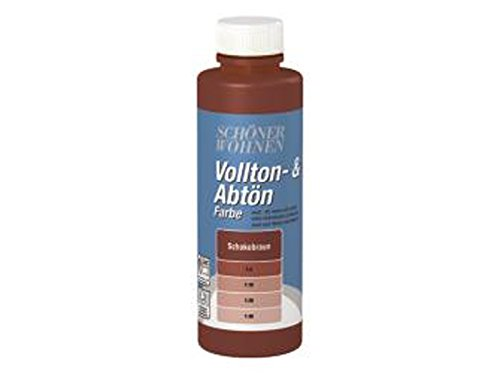 Voll- und Abtönfarbe Schokobraun 500 ml
