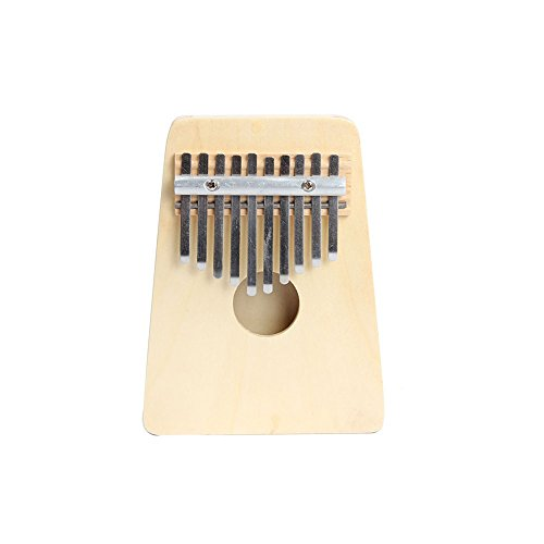 Preisvergleich Produktbild Forfar Kalimba Mbira Finger Klavier Likembe Sanza Daumenklavier 10 Key
