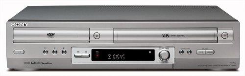 Sony SLV-D950 Videorekorder/DVD-Player Kombination silber