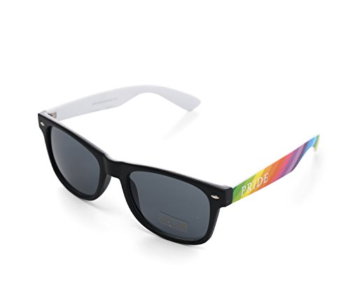 Colourful Gay Pride Drifter Rainbow Style Sunglasses (WSPSG3)