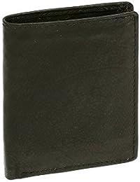 Petit portemonnaie LEAS , cuir véritable, noir - ''LEAS Mini-Edition''