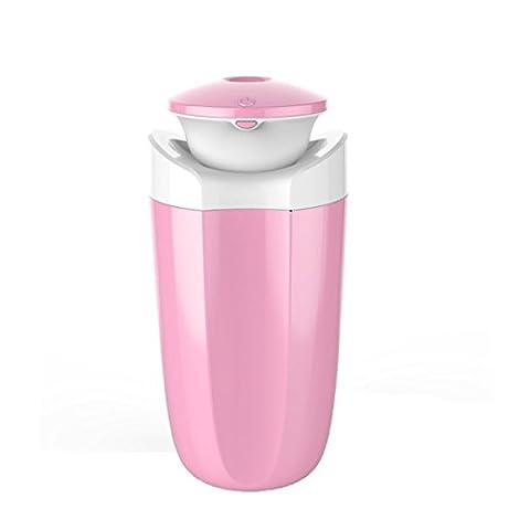 TAO Office De L'eau Pulvérisée Anion Voiture Humidificateur USB 110g 5.5 * 2.6 * 2.6in,Pink