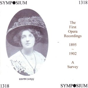 First Opera Recordings 1895-19 [Import USA]