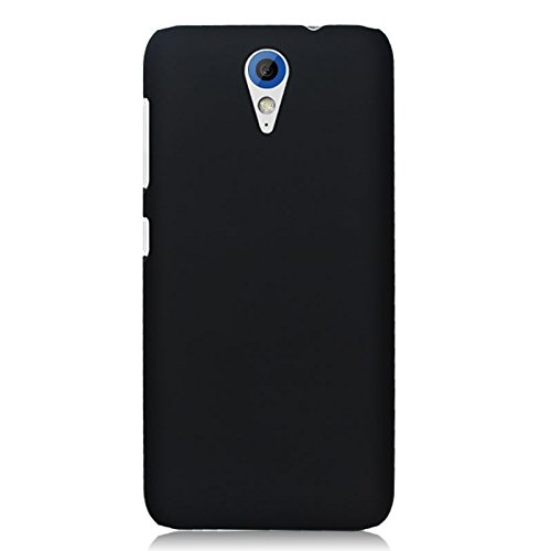 Wow Imagine™ Rubberised Matte Hard Case Back Cover for HTC Desire 620 620G Dual - Black