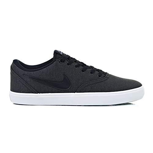 best service 71523 fa43e Nike Unisex-Erwachsene SB Check Solarsoft Canvas Premium Skateboardschuhe  Mehrfarbig (Anthracite Black