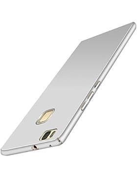 Wouier® Funda Huawei P9 Lite Perfecto Delgado Suave sedoso plástico PC de Anti-Scratch teléfono para Huawei P9...