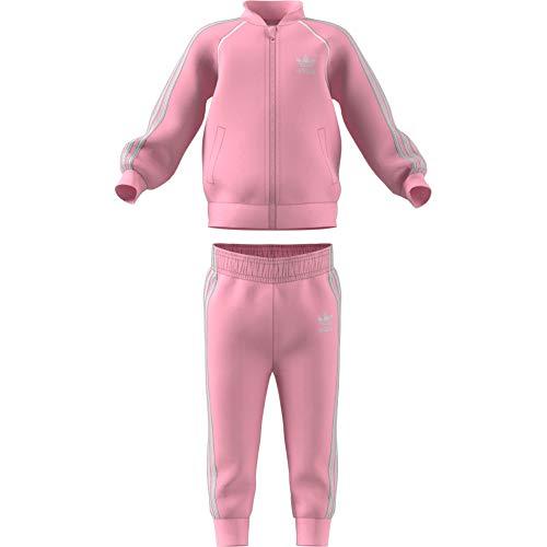 adidas Sst Survêtement Mixte Enfant, Light Pink, FR : 18-24 mois (Taille Fabricant : 92)