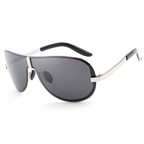 RLJJSH Sonnenbrille Frauen Bunte Frameless Mode Sonnenbrillen Polarisierte Runde Gesicht Farbfilm, Brille Herren Sonnenbrille Schützen Sie Ihre Augen Sonnenbrille Sonnenbrille