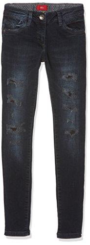 s.Oliver Mädchen Jeans 66.708.71.2979, Blau (Blue Denim Stretch 58Z2), 152 (Herstellergröße: 152/SLIM)