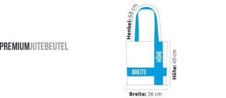 Kane Grey - Delta Beat - Premium Jutebeutel Schwarz