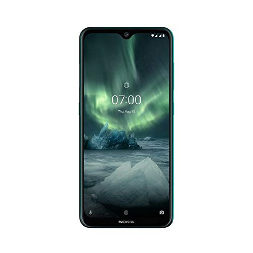 Nokia 7.2 6.3-Inch Android UK SIM-Free Smartphone with 4GB RAM and 64GB Storage (Dual SIM) - Cyan Green Best Price and Cheapest