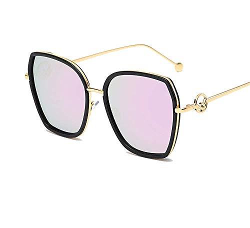 QYYtyj New Sonnenbrillen Herren und Damen General UV Large Frame Brillen/Outdoor Sonnenbrillen Fashion Sonnenbrillen Trend Sonnenbrillen (Color : Purple)