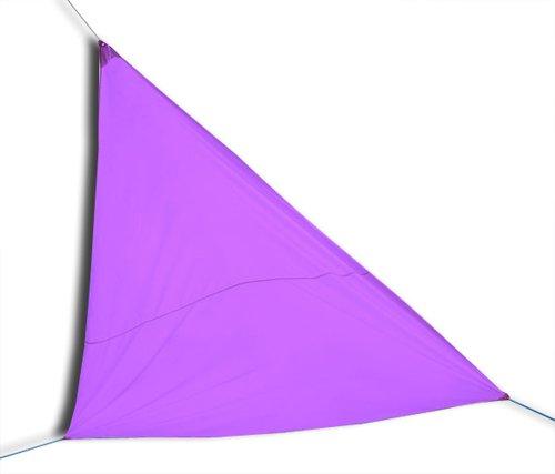 KMH 2,30 €/m², Großes Sonnensegel (Farbe: purple/3,6 x 3,6 x 3,6 Meter)/Sonnenschutz (#303001)