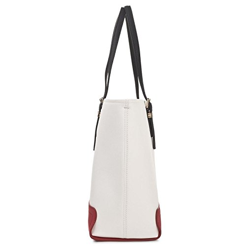 Tommy Hilfiger AW0AW04995 Shopper Donna White/Red/Blue