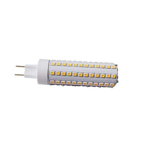 juler LED-Glühbirne für Halogenlampen, 12 W, G8.5, 25 x 100 mm, 360 Grad, Warmweiß, 10 Stück