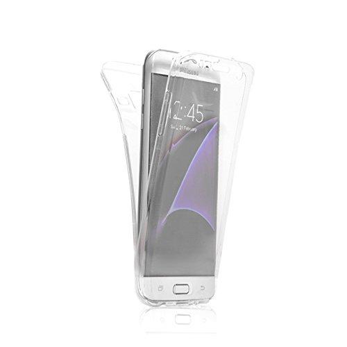 Custodia Samsung Galaxy A8 2015 Cover Case , Vandot [360 gradi] 3 in 1 Protezione Completa Glitter Sparkle Bling Bling Trasparente Custodia per Samsung Galaxy A8 2015 Cover Case Caso Gomma Ultra Sotti 360 Clear