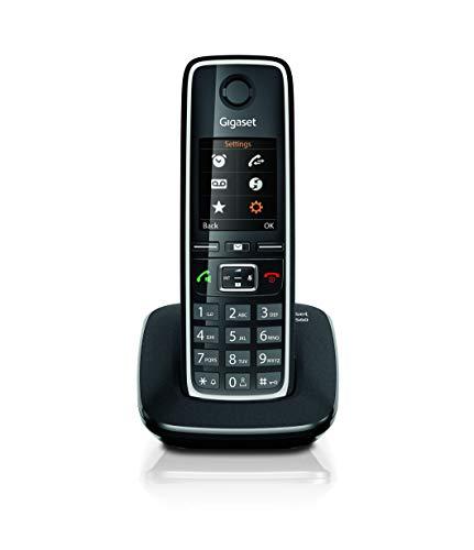 Gigaset C560 Telefono portatile, trasferimento di chiamata, suonerie e rubrica personalizzabili, Vivavoce...