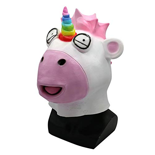 pfbedeckung Cute Unicorn Mask Bar Party COS Lustige Show Requisiten ()