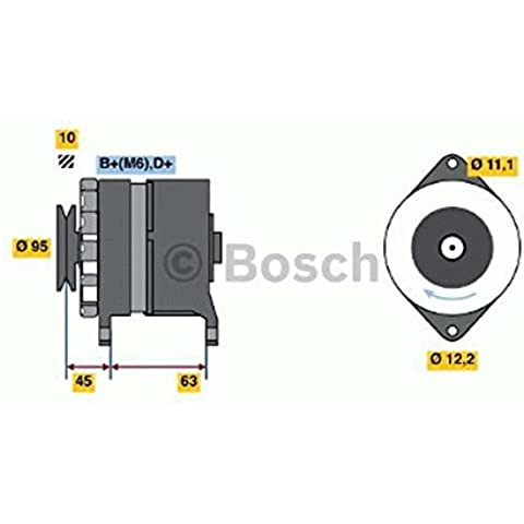 Bosch 0986031340 ALTERNATORE