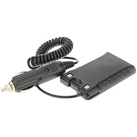Quansheng Car Charger Battery Eliminator adattatore di alimentazione per TG-UV/TG-UV2 radio a due vie